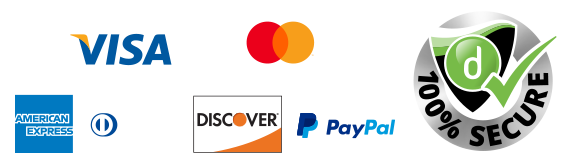 Pay with credit card or PayPal