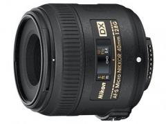Nikon 40mm F/2.8G ED AF-S DX Macro