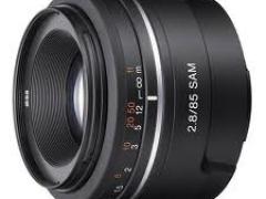 Sony 85mm F/2.8 (Alpha)