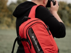 Camera Centre Backpack 100 Red