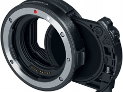 Canon Drop-In Filter Mount Adapter EF EOS R with Variable ND Filter