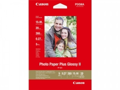 Canon Photo Paper Plus ll PP-201 (13x18cm) 5X7 20 Sheets (Glossy)