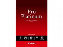 Canon Photo Paper Pro Platinum PT-101 A4 20 Sheets