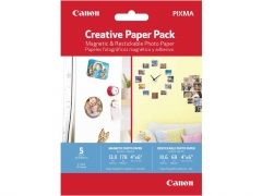 Canon Pixma Kit 5 Creative Magnetic Papers (5 Pack)