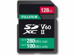 Fujifilm 128Gb UHS ll V60 Pro Card (280/100MB/s)
