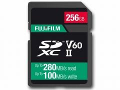 Fujifilm 256Gb UHS ll V60 Pro Card (280/100MB/s)