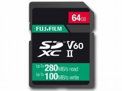 Fujifilm 64Gb UHS ll V60 Pro Card (280/100MB/s)