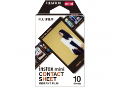 Fujifilm Instax Mini Contact Sheet Film (10 Pack)