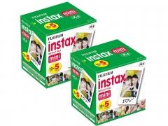 Fujifilm Instax Mini Instant Film 100 Shots Package Offer (2 x 50)