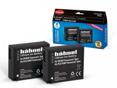 Hahnel Panasonic HL-PLG10HP Twin Pack