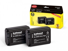 Hahnel Sony HL-XW50 Twin Pack