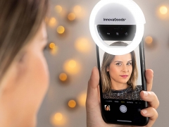 Instahoop Rechargeable LED Ring Light (For Phones)
