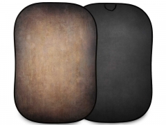 Lastolite Vintage Collapsible 1.5 x 2.1m (5' x 7') Walnut/Pewter