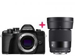 Olympus OMD E-M10 + Sigma 30mm F:1.4 DC DN Lens Kit