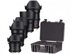 Samyang VDSLR MK2 5 Lens Kit Canon RF