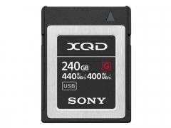 Sony 240GB XQD Flash Memory Card - G Series (Read 440MB/s and Write 400MB/s)