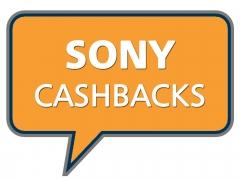 Sony Cashbacks