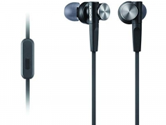 Sony Extra Bass InEar Headphones With In Line Mic and Colour-Matching Cord (MDRXB50APBCE7)