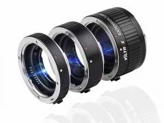 VILTROX DG-C Auto Focus Macro Extension Tube Set for Canon EOS EF & EF-S Mount