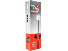 You Star Content Creator Phone Holder with LED light