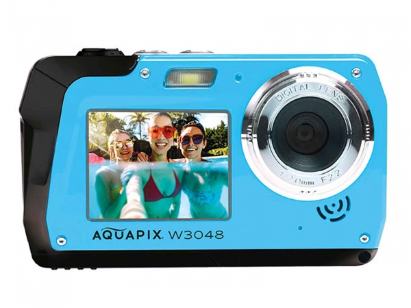 Aquapix W3048-1 Edge HD Waterproof Ice Blue
