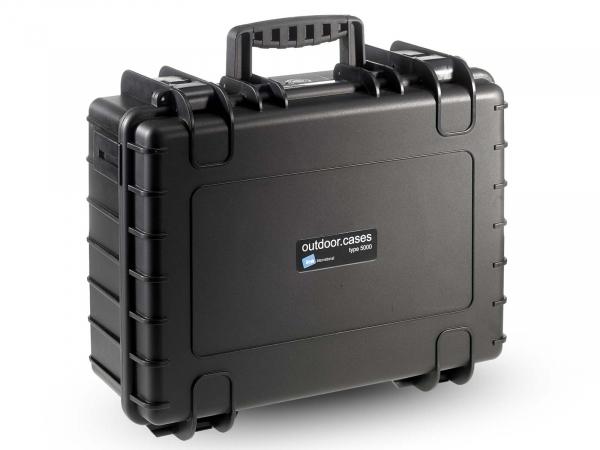 B & W Type 5000 Hard Case (Black)