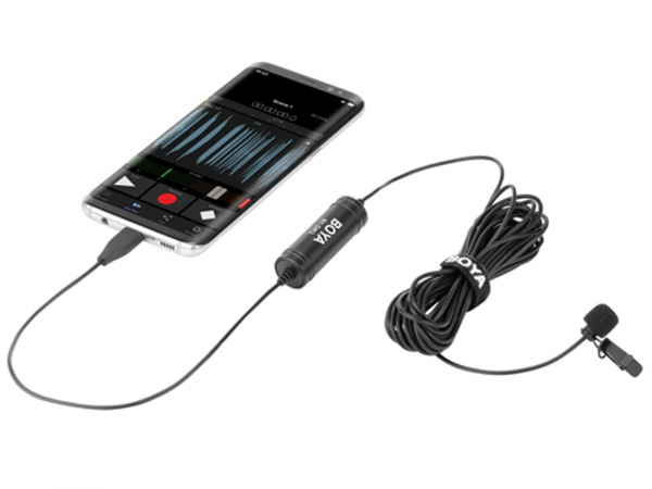 Boya By-DM2 Digital Lavalier Microphone (For Android Devices)