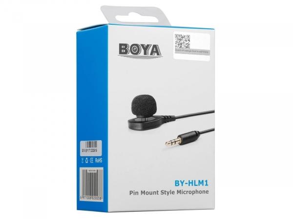 Boya BY-HLM1 Wearable Pin Microphone