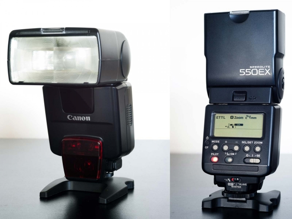 Canon 550 EX Speedlight Flash (S/H)