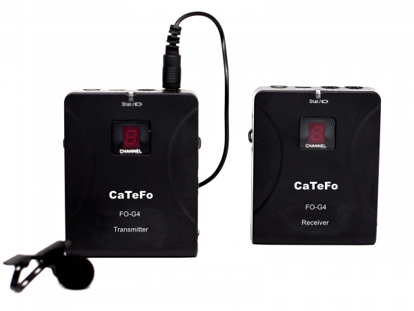 CaTeFo FO-G4 UHF Wireless Microphone