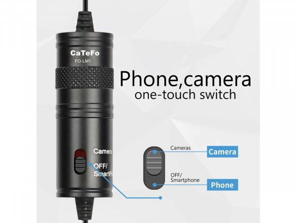 CaTeFo FO-LM1 Lavalier Microphone