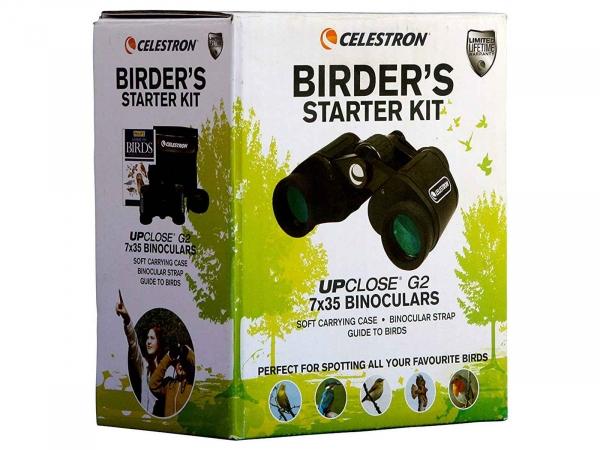 Celestron UpClose G2 7x35 Porro Prism Birder Kit
