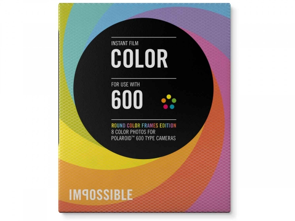 Polaroid 600 Color Template Film Packs