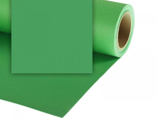 Colourama Paper Background 2.72 x 25m Chromagreen