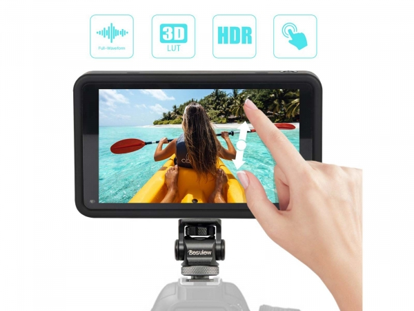 """DesView R5 5.5"""" on Camera Monitor With Touch Screen"""