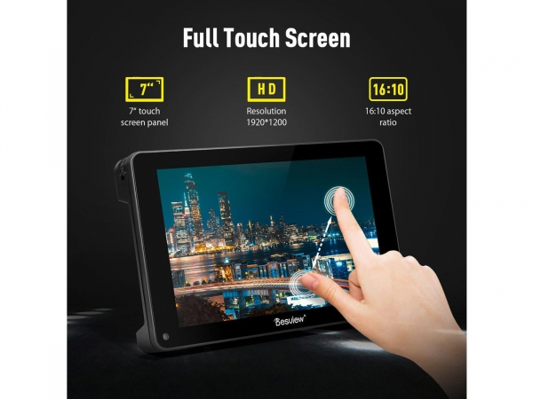 """DesView R7S 7"""" On Camera Monitor With Touch Screen"""