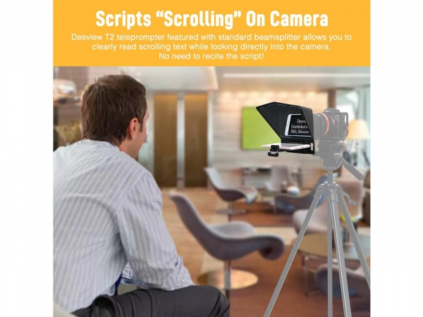 DesView Teleprompter T2 (autocue) For Smartphone/Tablets