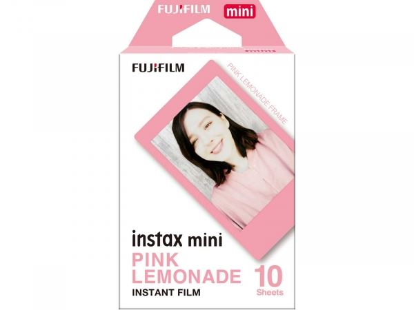 Fuji Instax Mini Pink Lemonade (10 Pack)