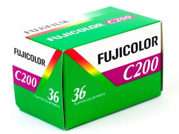 Fujifilm Fujicolor C200 135/36 EXP Film
