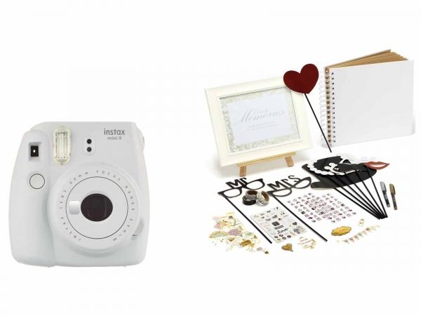 Fujifilm Instax Mini 9 Wedding Bundle (Plus 60 SHOTS)