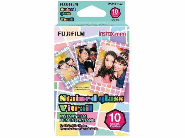 Fujifilm Instax Mini Film Stained Glass (10 Pack)