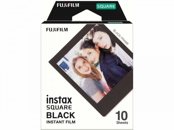 FujiFilm Instax Square Black Frame 10 Shots Film Pack