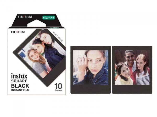 FujiFilm Instax Square Black Frame 10 Shots Film Pack