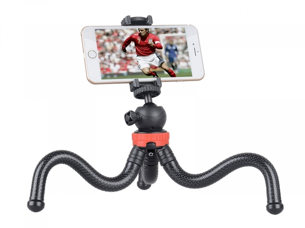 Gizomos Phone Holder + Flexible Mini Tripod Set (GP-05-ST)