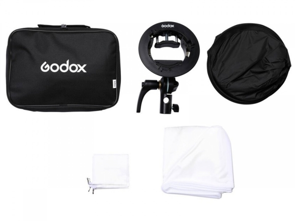 Godox SGUV8080 Outdoor Flash Kit S2 Bracket Softbox
