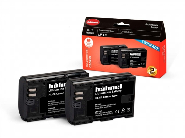 Hahnel Canon HL-E6 Twin Pack
