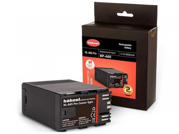 Hahnel HL-A65 Pro Camcorder Battery For Canon