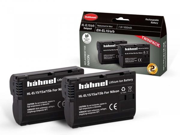 Hahnel Nikon HL-EL15HP Twin Pack