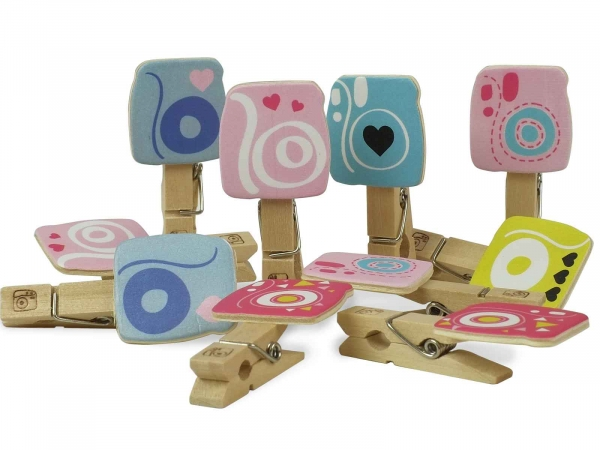 Instax Design Clips (Pegs) Camera (10 Pack W/O Cord)