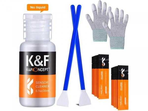 K&F 16mm Camera APS-C Sensor Cleaning Swab Kit